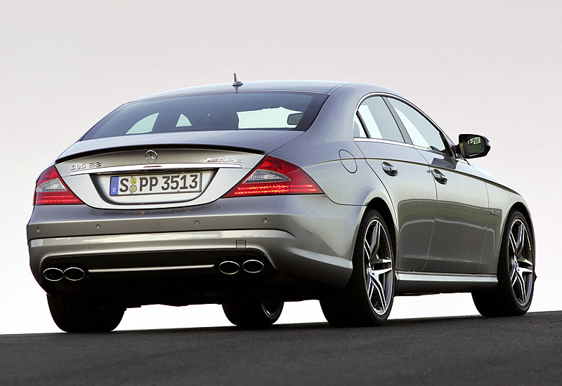 2007 Mercedes Benz Cls 63 Amg C219 Specifications Photo Price Information Rating