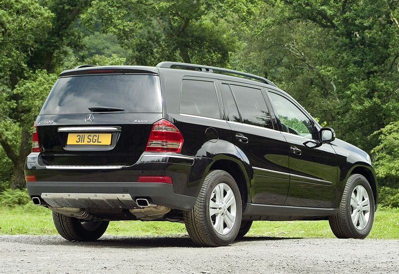 2007 mercedes benz gl 500 4matic x164 specifications for Mercedes benz gl450 4matic price