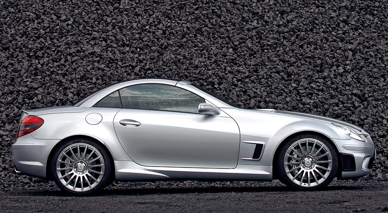 280 Kph To Mph >> 2007 Mercedes-Benz SLK 55 AMG Black Series - specifications, photo, price, information, rating
