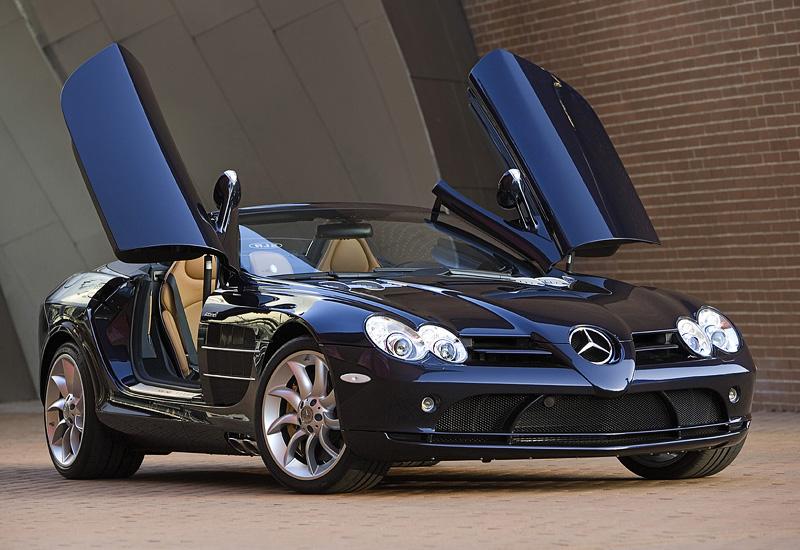 2007 Mercedes Benz Slr Mclaren Roadster R199