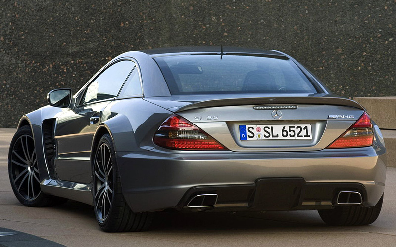 2008 Mercedes Benz Sl 65 Amg Black Series Specifications