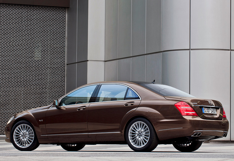 2009 Mercedes Benz S 600 W221 Specifications Photo