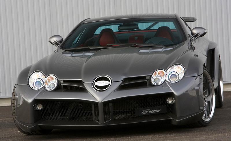 2009 Mercedes-Benz SLR McLaren FAB Design Desire
