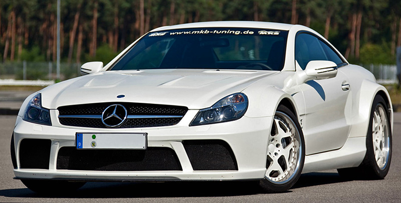 2011 Mercedes-Benz SL 65 AMG Black Series - MKB P 1000