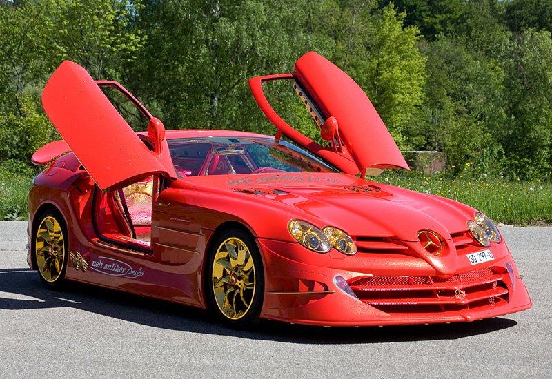2011 Mercedes Benz SLR McLaren 999 Red Gold Dream Ueli Anliker