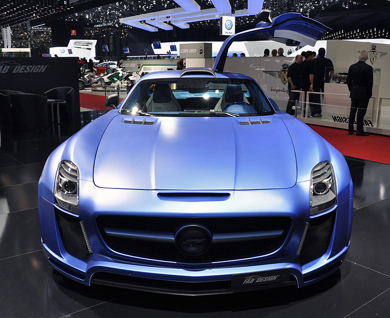 2011 mercedes benz sls amg fab design gullstream for Mercedes benz sls price