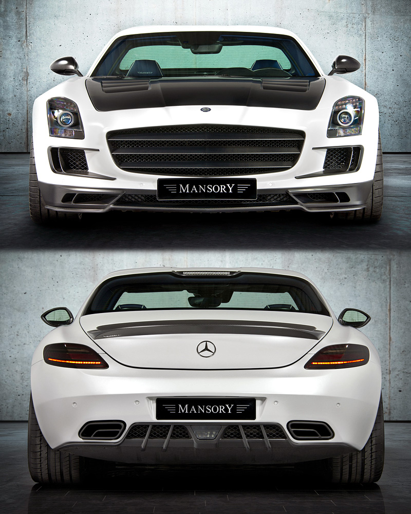 2011 Mercedes Benz Sls Amg Mansory Specifications Photo