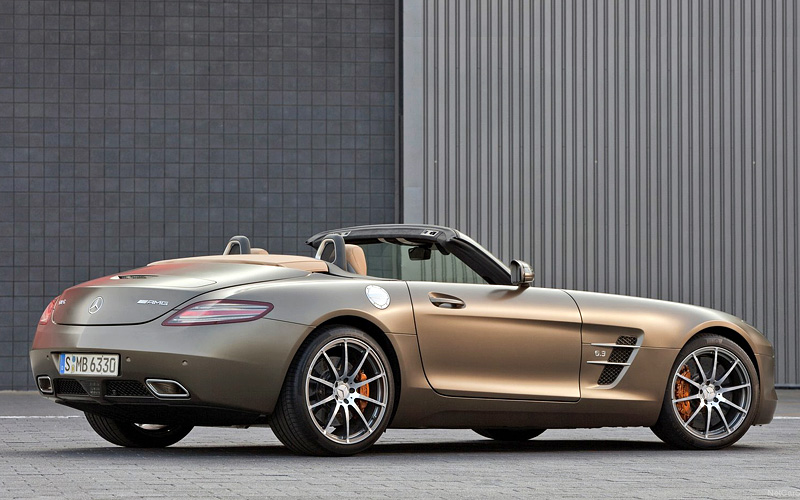 2011 mercedes benz sls amg roadster specifications for Mercedes benz roadster price