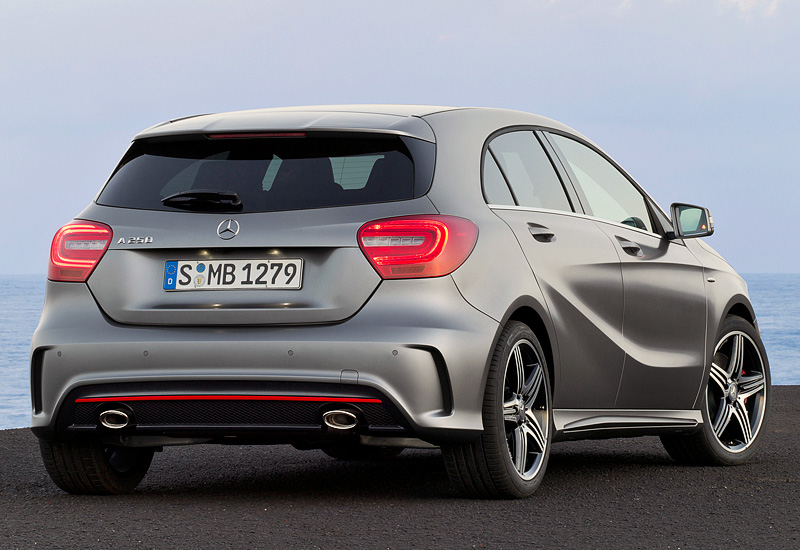 2012 mercedes-benz a 250 amg sport package (w176) - specifications