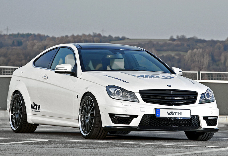 2012 Mercedes-Benz C 63 AMG Coupe VÄTH V63