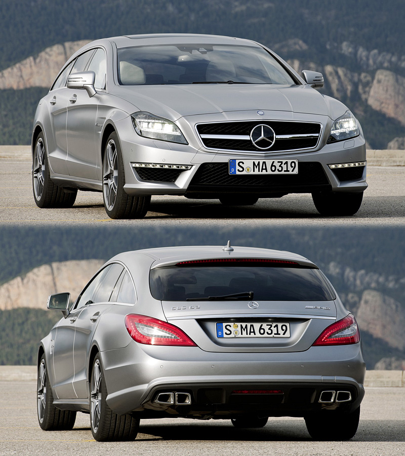 2012 mercedes benz cls 63 amg shooting brake edition 1 for Mercedes benz cls 2012 price