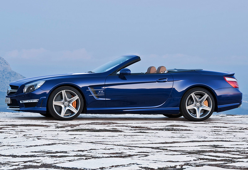 2012 Mercedes Benz Sl 65 Amg R231 Specifications