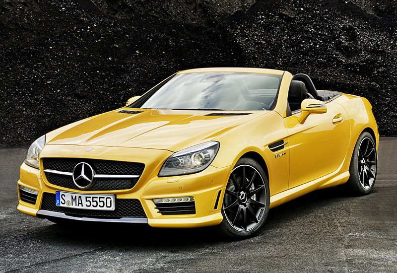 2012 Mercedes Benz Slk 55 Amg R172 Specifications