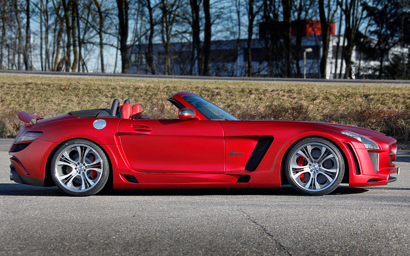 2012 Mercedes-Benz SLS AMG Roadster FAB Design Jetstream - specifications, photo, price ...