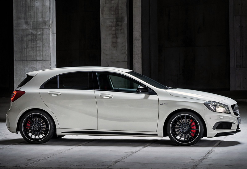 2013 mercedes benz a 45 amg w176 specifications photo for Mercedes benz a 45