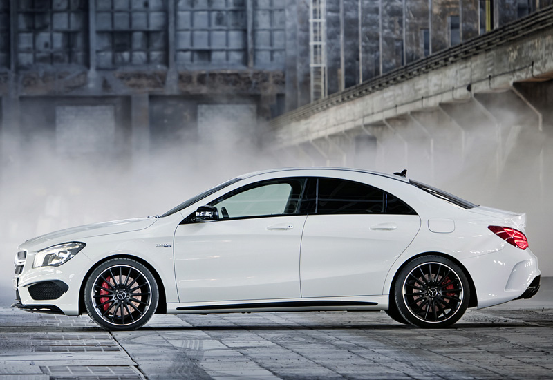2013 mercedes benz cla 45 amg c117 specifications for Mercedes benz cla 2013