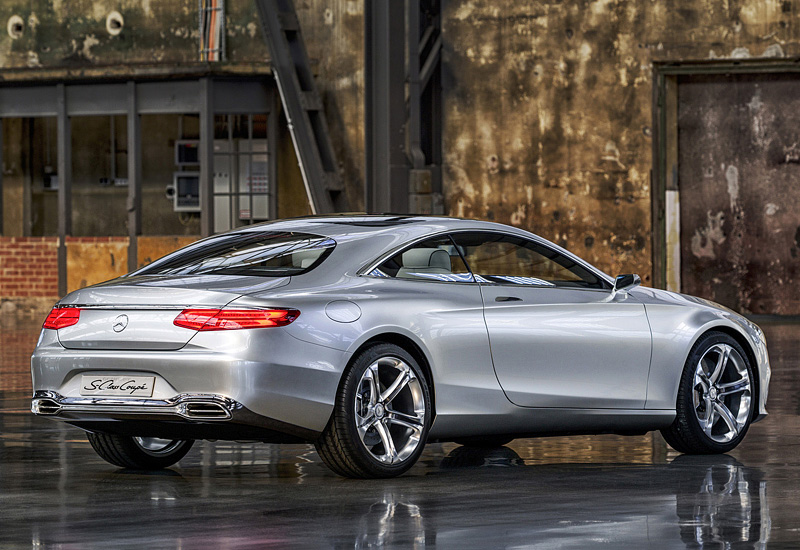 2013 Mercedes Benz Concept S Class Coupe Specifications