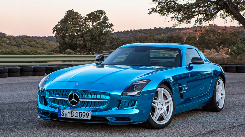 2013 Mercedes Benz Sls Amg Electric Drive Specifications