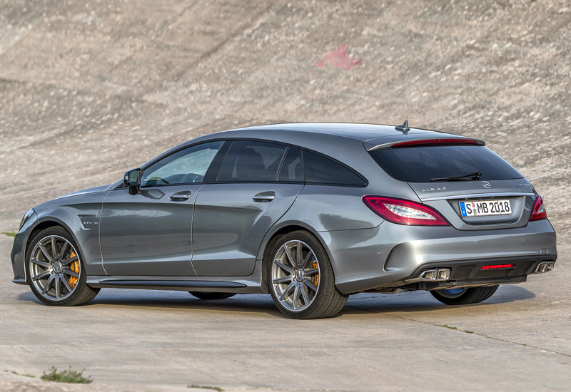 2015 Mercedes Benz Cls 63 Amg Shooting Brake S Model 4matic X218 Specifications Photo