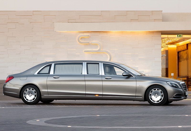 2016 Mercedes-Maybach S 600 Pullman - specifications ...