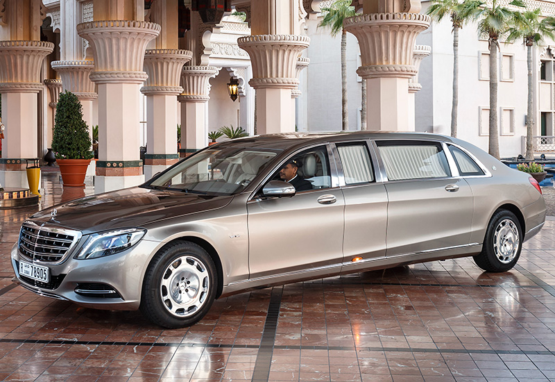 2016 Mercedes Maybach S 600 Pullman Specifications Photo Price