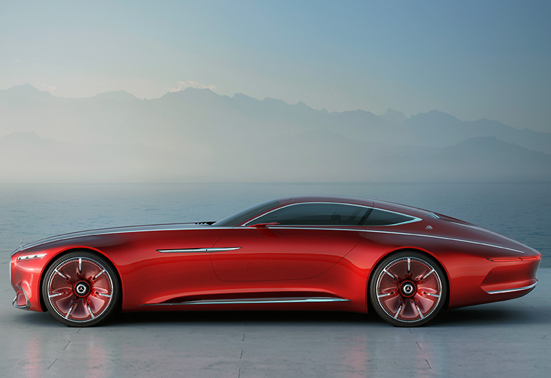 2016 Mercedes Maybach 6 Vision Concept Specifications Photo
