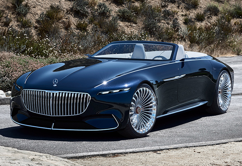 2017 mercedes-maybach 6 cabriolet vision concept - specifications