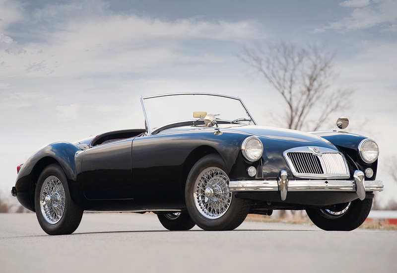 1958 MG A Twin-Cam - specifications, photo, price ...