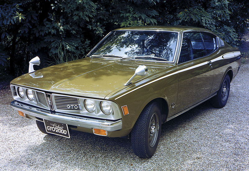 1973 Mitsubishi Galant GTO 2000 GS-R - specifications, photo, price, information, rating