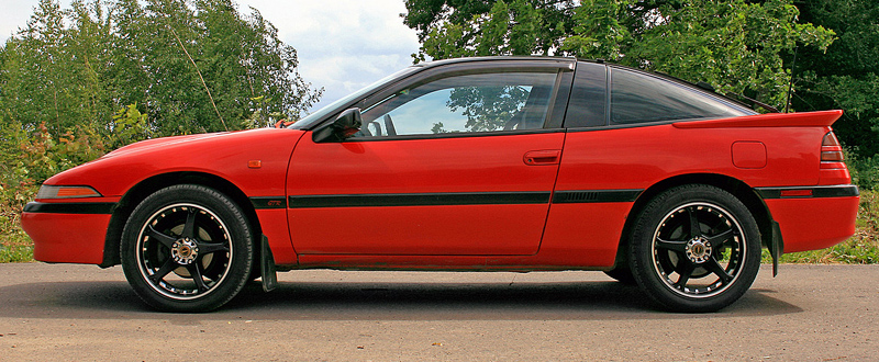 1990 Mitsubishi Eclipse GSX Turbo AWD (1G) - specifications, photo, price, information, rating