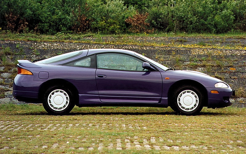 1995 Mitsubishi Eclipse GSX (2G, D30) - specifications ...