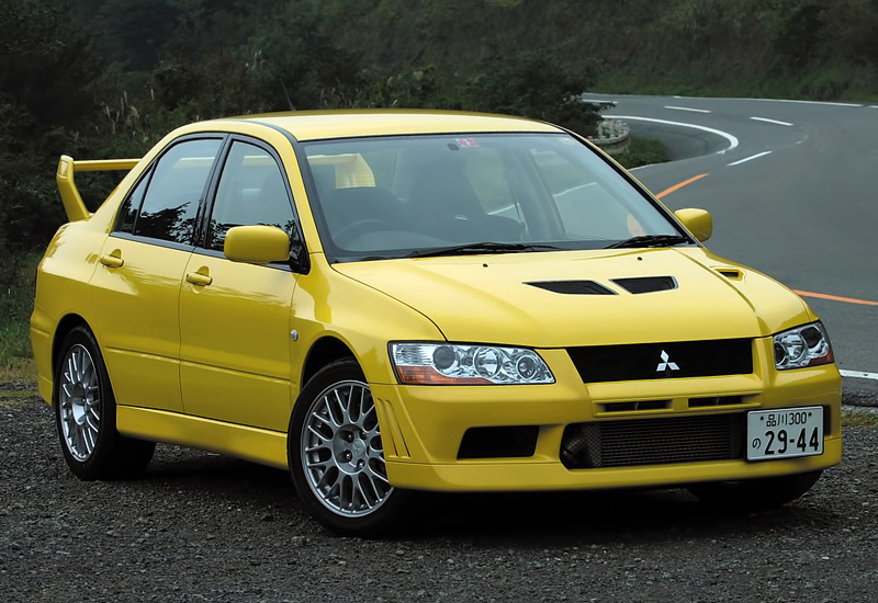 2001 Mitsubishi Lancer GSR Evolution VII (CT9A) - specifications, photo, price, information, rating