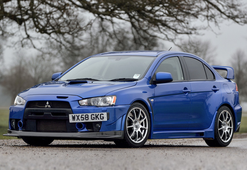 2009 mitsubishi lancer evolution x fq 400 specifications photo price information rating. Black Bedroom Furniture Sets. Home Design Ideas