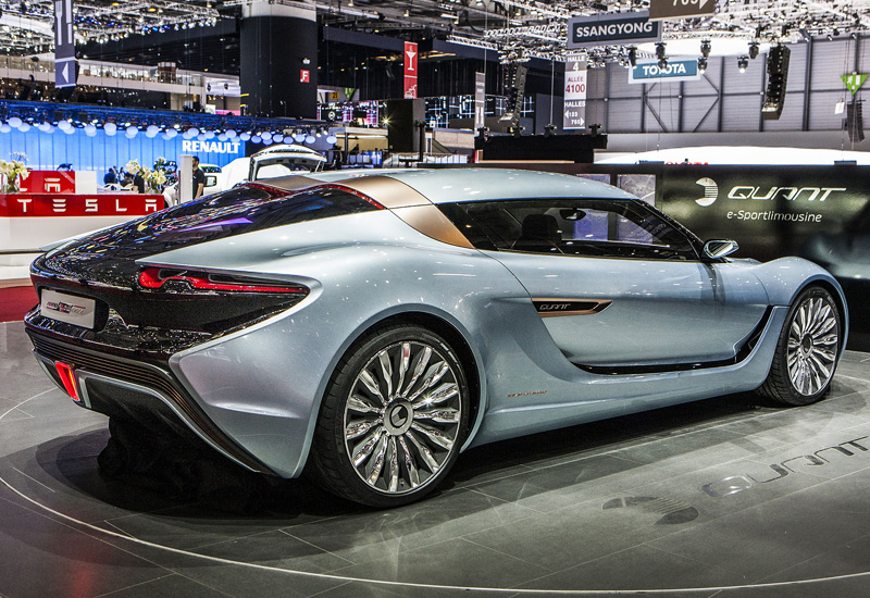 2014 Nanoflowcell Quant E Sportlimousine Specifications
