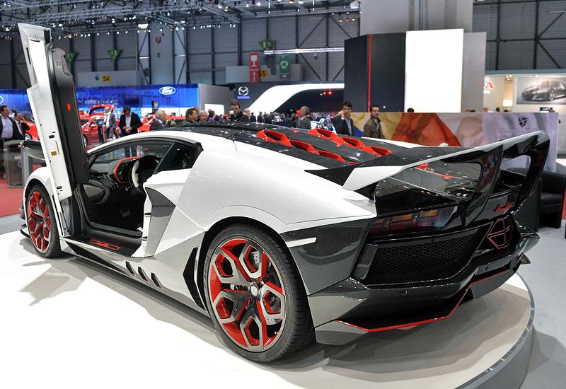2014 Lamborghini Aventador Lp700 4 Nimrod Performance Avanti Rosso Specifications Photo