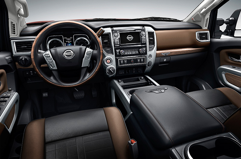 2017 nissan titan 5 6 platinum reserve specifications - Nissan titan interior accessories ...