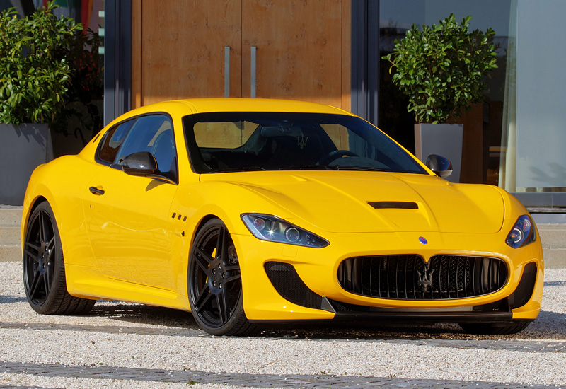 2011 Maserati GranTurismo MC Stradale Novitec Tridente