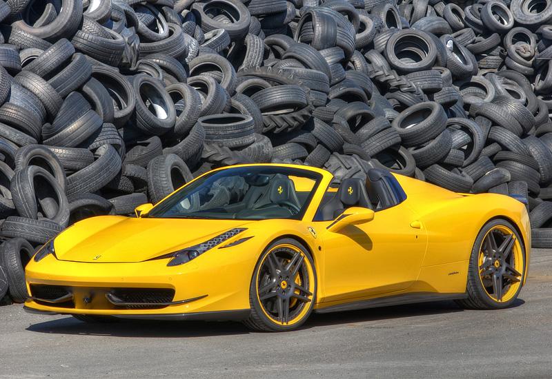 Ferrari 458 spider 0 60
