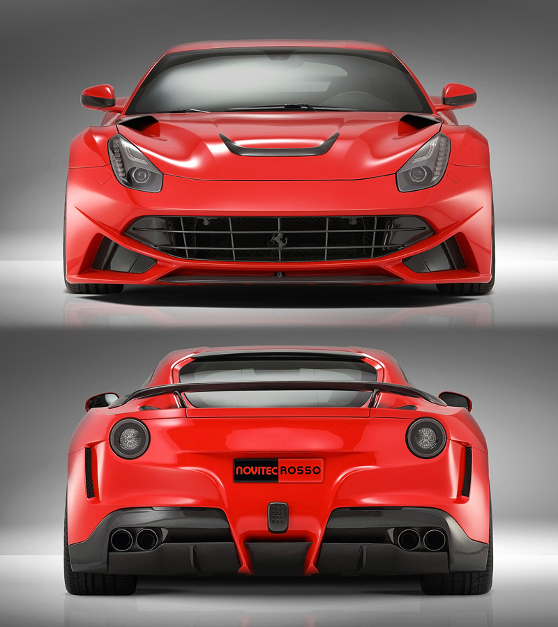 2013 Ferrari F12 Berlinetta Novitec Rosso N Largo