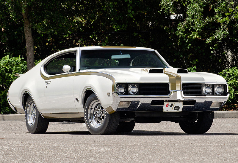1969 Oldsmobile 442 Hurst/Olds Holiday Coupe ...