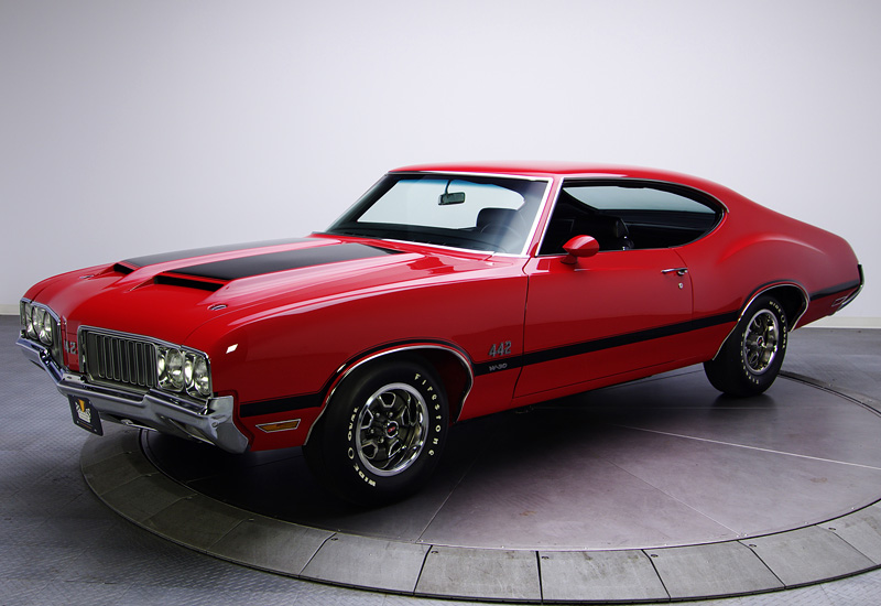 1970 Oldsmobile 442 W 30 Holiday Coupe Specifications