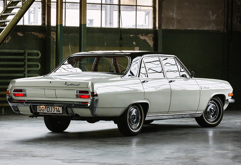 100 Kph To Mph >> 1965 Opel Admiral V8 - specifications, photo, price, information, rating