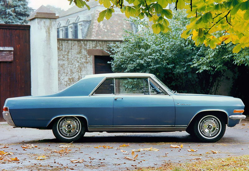 1965 Opel Diplomat V8 Coupe - specifications, photo, price, information, rating