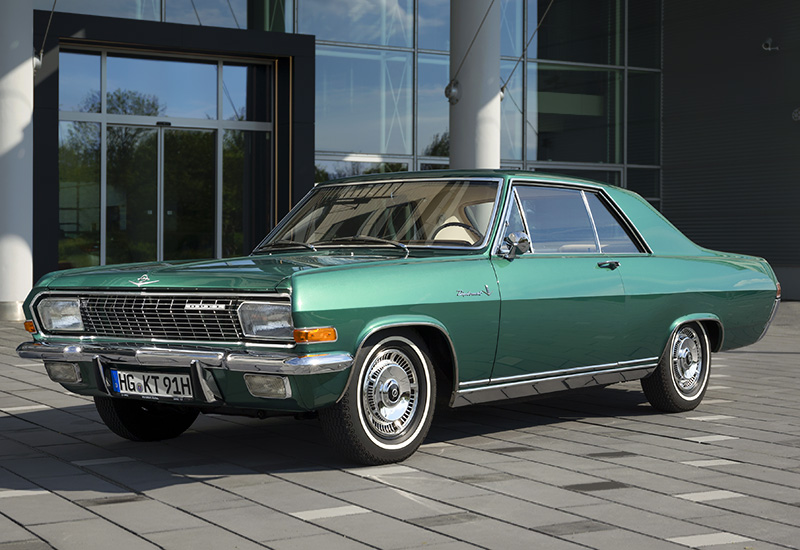 1965 Opel Diplomat V8 Coupe - specifications, photo, price ...
