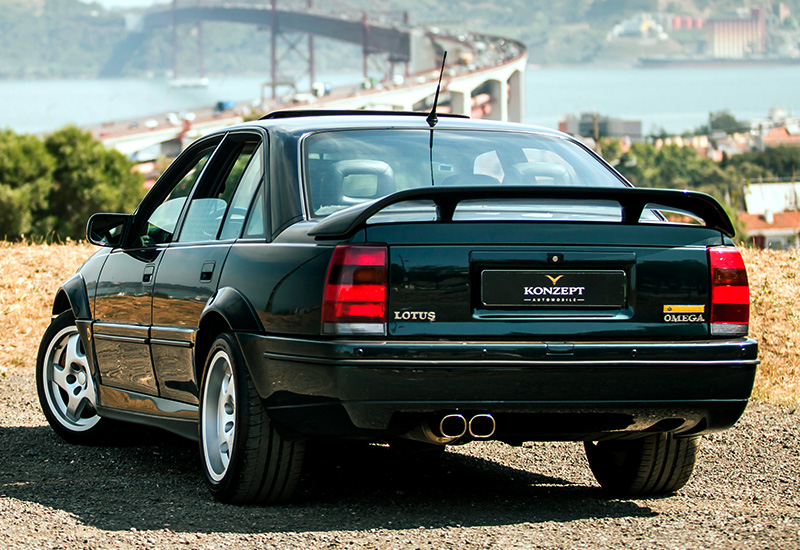 opel omega lotus specifications photo price information rating