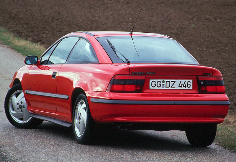 100 Kph To Mph >> 1992 Opel Calibra Turbo 4x4 - specifications, photo, price ...