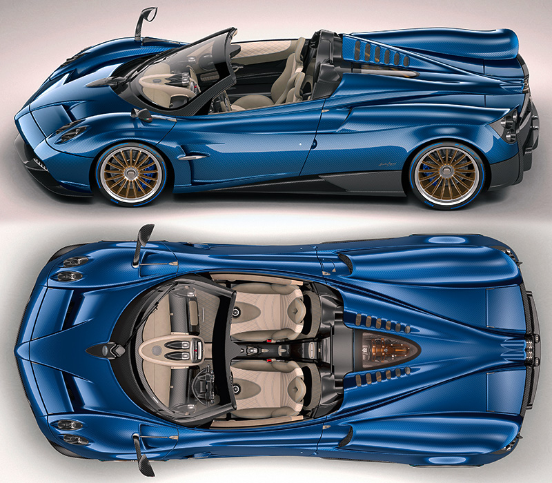 2018 pagani huayra roadster specifications photo price. Black Bedroom Furniture Sets. Home Design Ideas