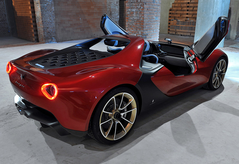 2013 Ferrari Sergio Pininfarina Concept - specifications, photo ...