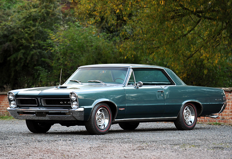 1965 Pontiac Gto Hardtop Coupe Specifications Photo