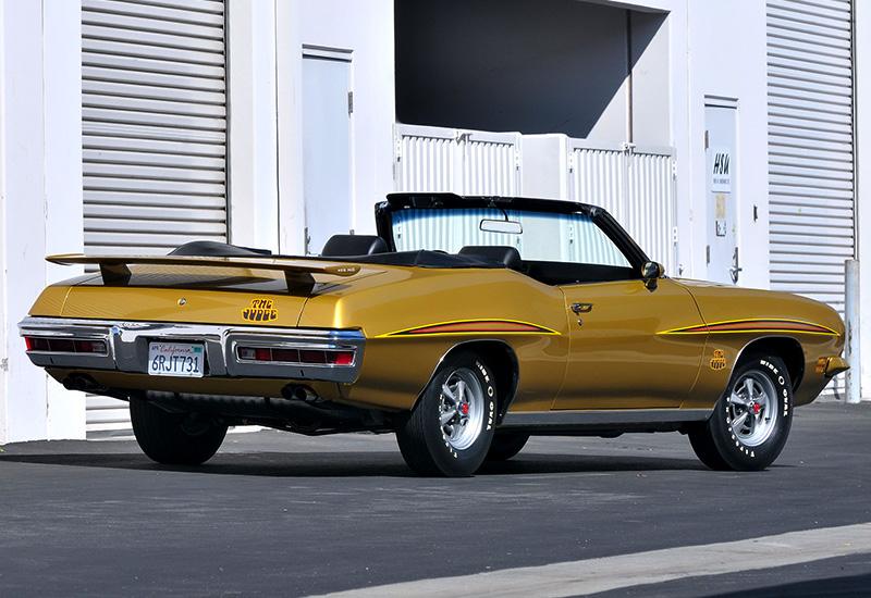 1971 Pontiac Gto Judge Convertible Specifications Photo